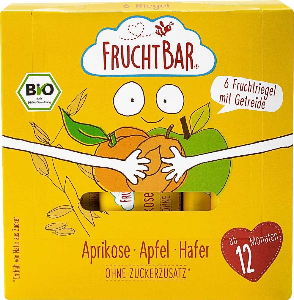 Abbildung des Sortimentsartikels jufico FruchtBar Riegel aus Frucht & Getreide