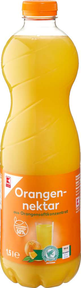Abbildung des Sortimentsartikels K-Classic Orangennektar 1,5l