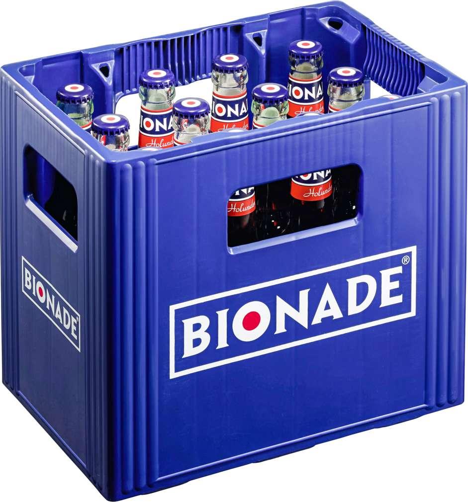 Abbildung des Sortimentsartikels Bionade Holunder 12x0,33l