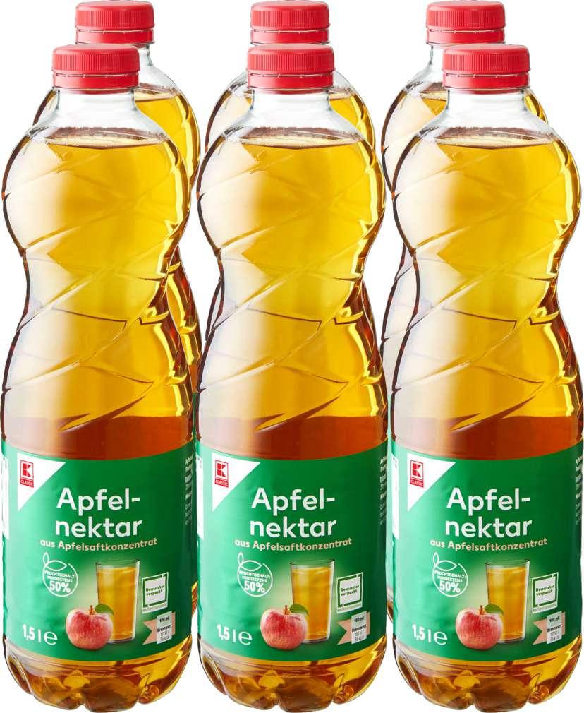 Abbildung des Sortimentsartikels K-Classic Apfelnektar 6/1,5l