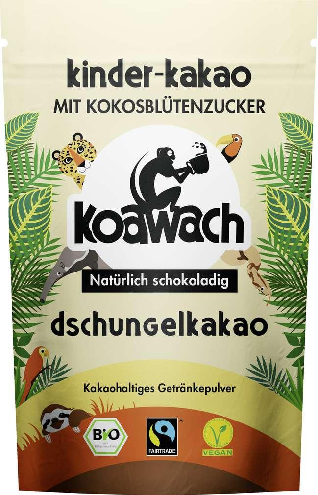 Abbildung des Sortimentsartikels Koawach Bio-Dschungelkakao vegan 100g