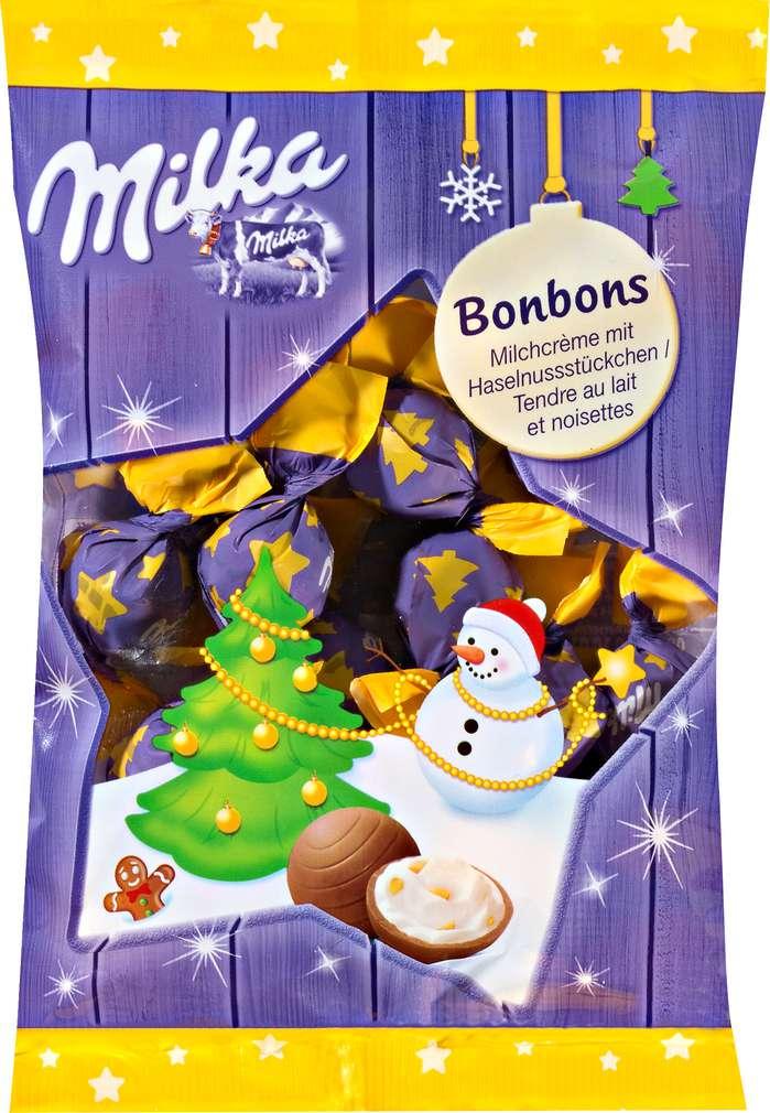 Abbildung des Sortimentsartikels Milka Bonbons Milchcreme 86g