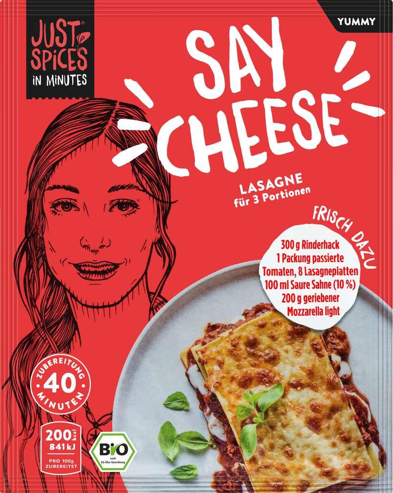 Abbildung des Sortimentsartikels Just Spices Bio-Gewürz Lasagne lf 40g
