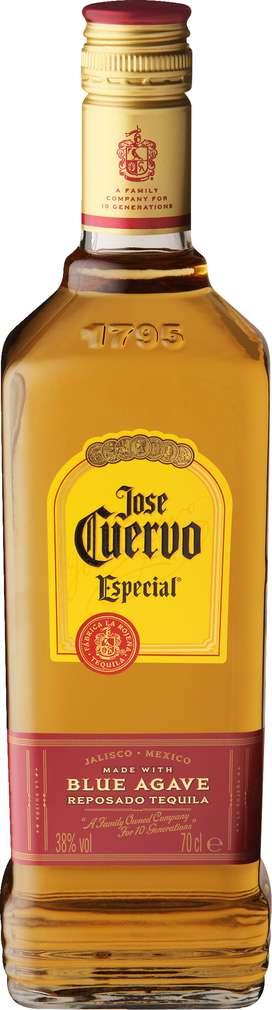 Abbildung des Sortimentsartikels Jose Cuervo Especial Reposado Tequila 38%-Vol. 0,7l