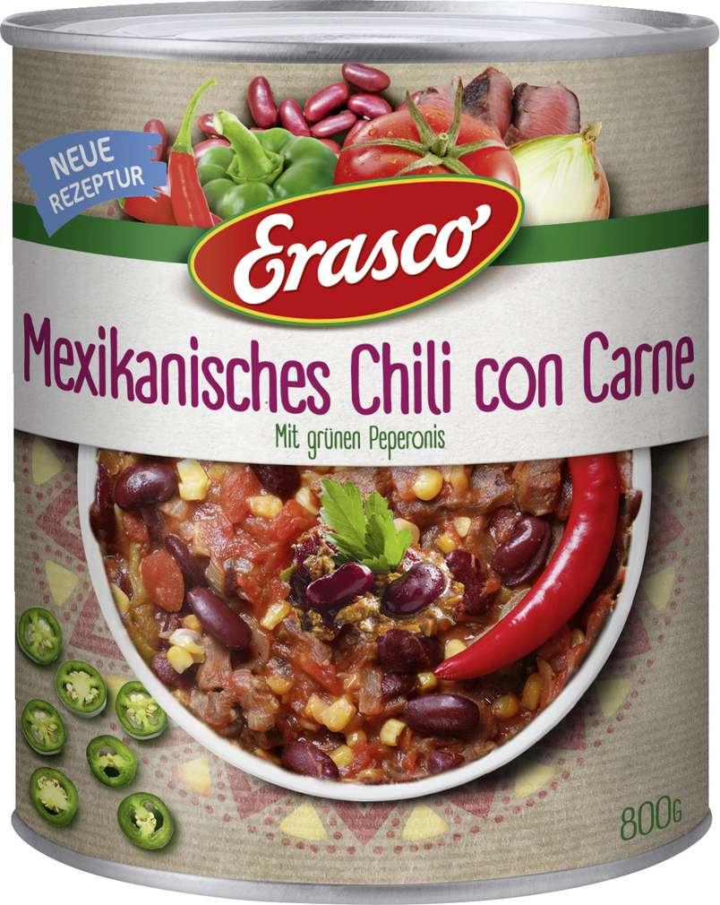 Abbildung des Sortimentsartikels Erasco Mexikanisches Chili con Carne 800g