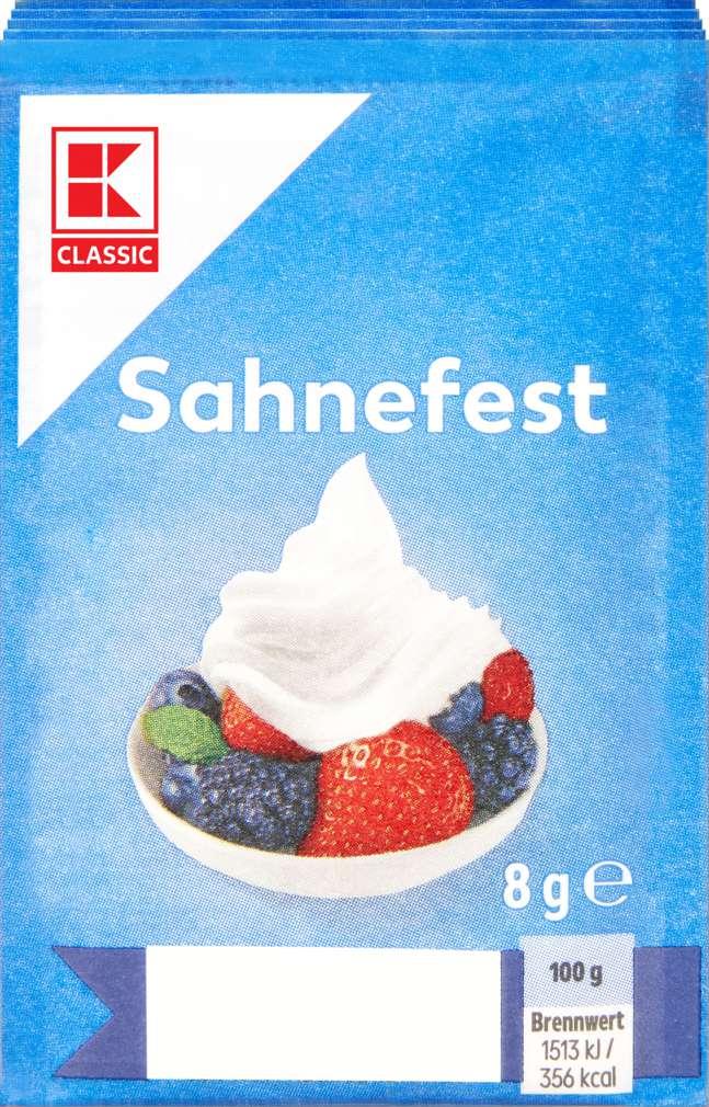Abbildung des Sortimentsartikels K-Classic Sahnefest 5er