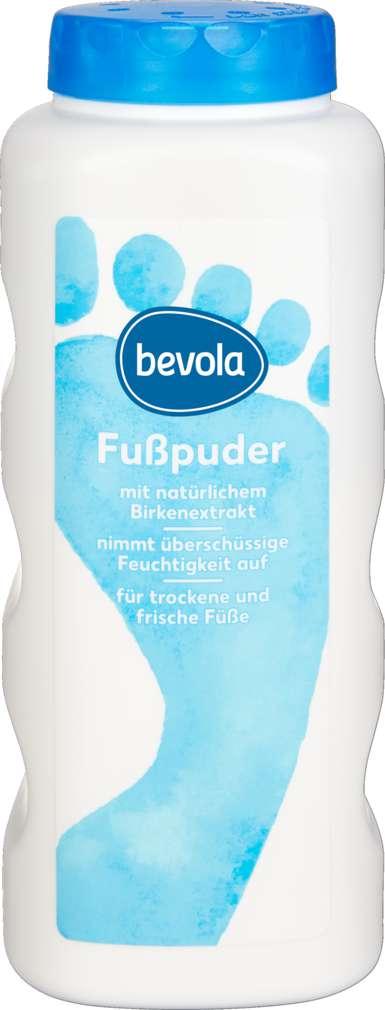 Abbildung des Sortimentsartikels Bevola Fußpuder 100g