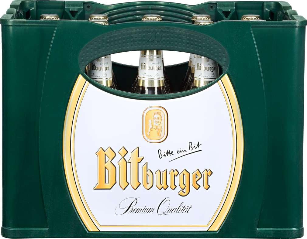 Abbildung des Sortimentsartikels Bitburger Premium Pils 20x0,5l