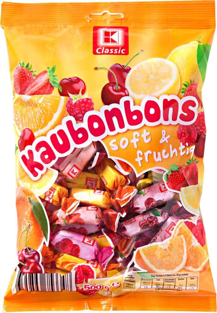 Abbildung des Sortimentsartikels K-Classic Soft & Fruchtig Kaubonbon 500g