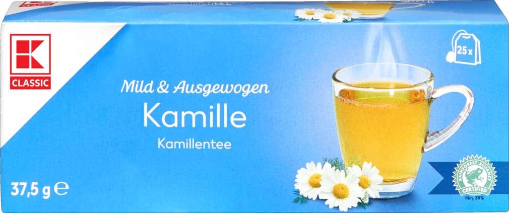 Abbildung des Sortimentsartikels K-Classic Kräutertee Kamille 25x1,5g