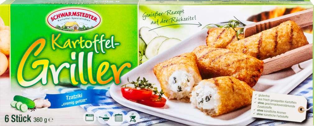 Abbildung des Sortimentsartikels Schwarmstedter Kartoffel Griller mit Tzatziki 360g