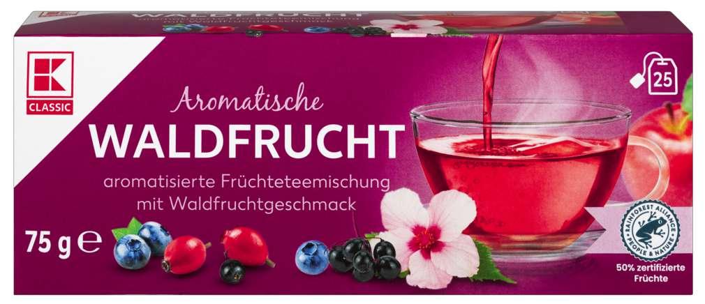 Abbildung des Sortimentsartikels K-Classic Waldfrucht Früchtetee 25x3,0g