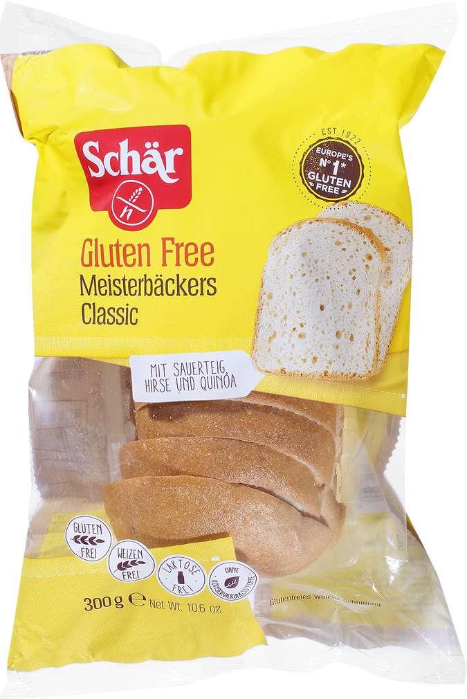 Abbildung des Sortimentsartikels Schär Meisterbäckers Classic glutenfrei 300g
