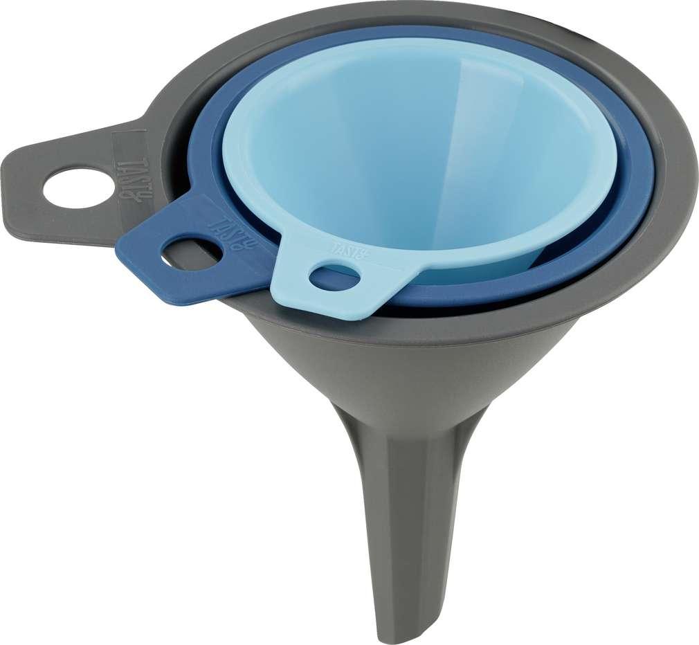Abbildung des Sortimentsartikels Tasty Trichter-Set Kunststoff 3-teilig