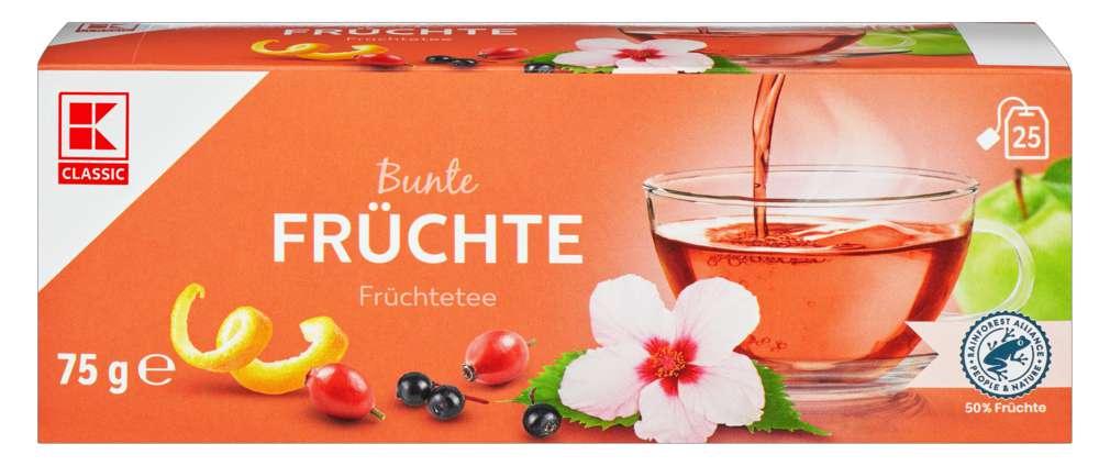 Abbildung des Sortimentsartikels K-Classic Früchtetee 25x3,0g