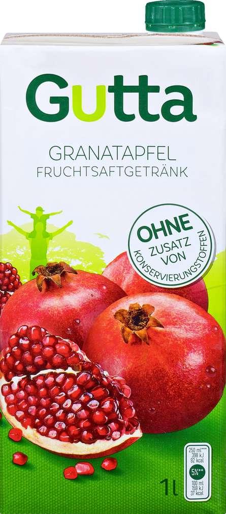 Abbildung des Sortimentsartikels Dovgan Gutta Granatapfel-Drink 1l