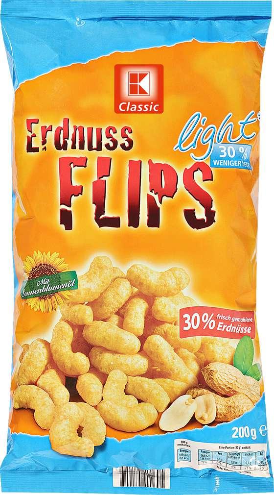 Abbildung des Sortimentsartikels K-Classic Erdnuss Flips light 200g