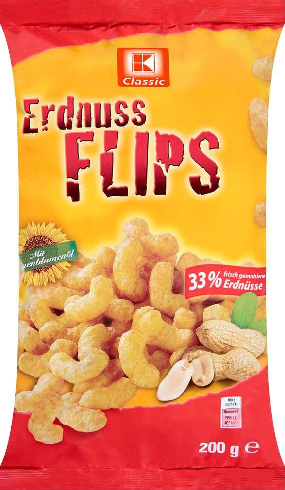Abbildung des Sortimentsartikels K-Classic Erdnuss Flips 200g
