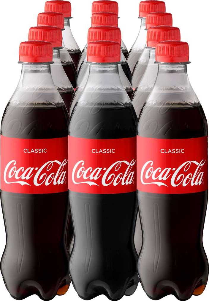Abbildung des Sortimentsartikels Coca-Cola 12x0,5l