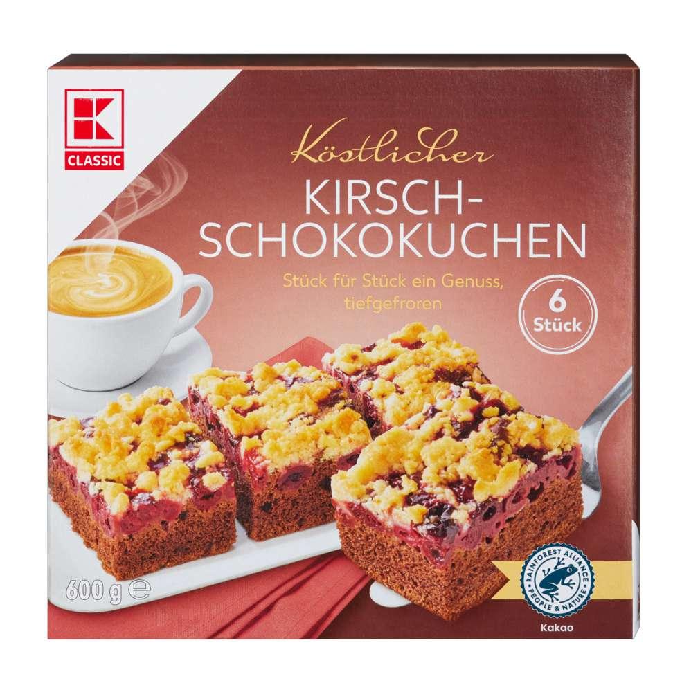 Abbildung des Sortimentsartikels K-Classic Kirsch-Schokokuchen 600g