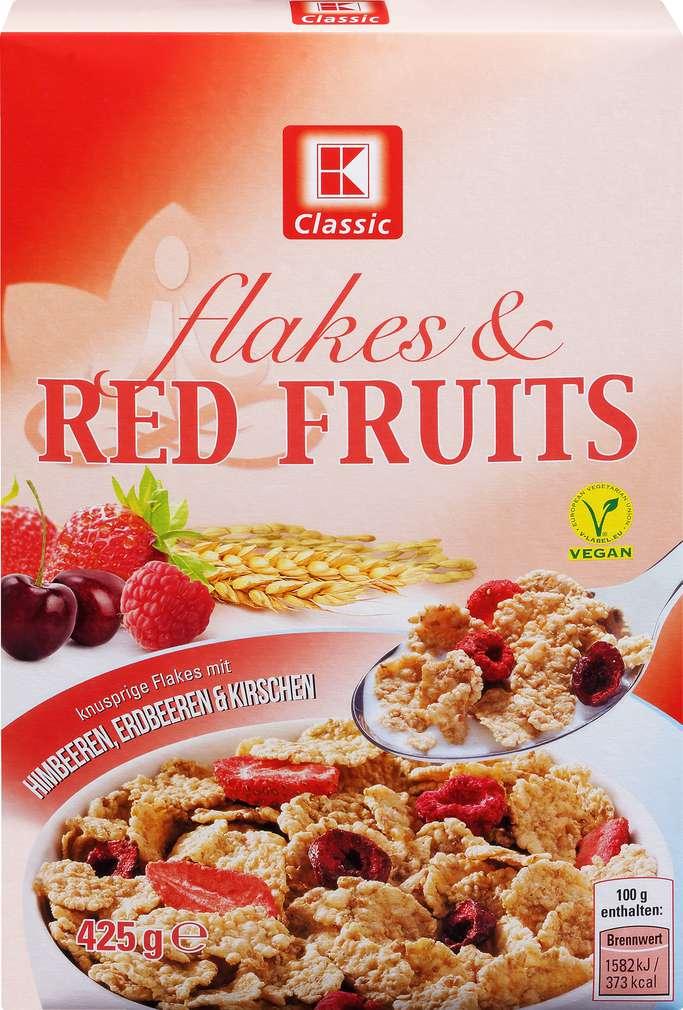 Abbildung des Sortimentsartikels K-Classic Flakes'n Fruits Red 425g