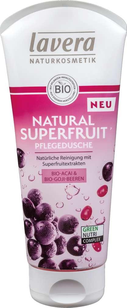 Abbildung des Sortimentsartikels Lavera Duschgel Superfruit Acaii 200ml