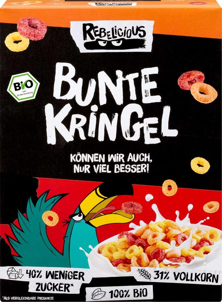 Abbildung des Sortimentsartikels Helden Snacks Bio-Bunte Kringel Rebelicious 275g
