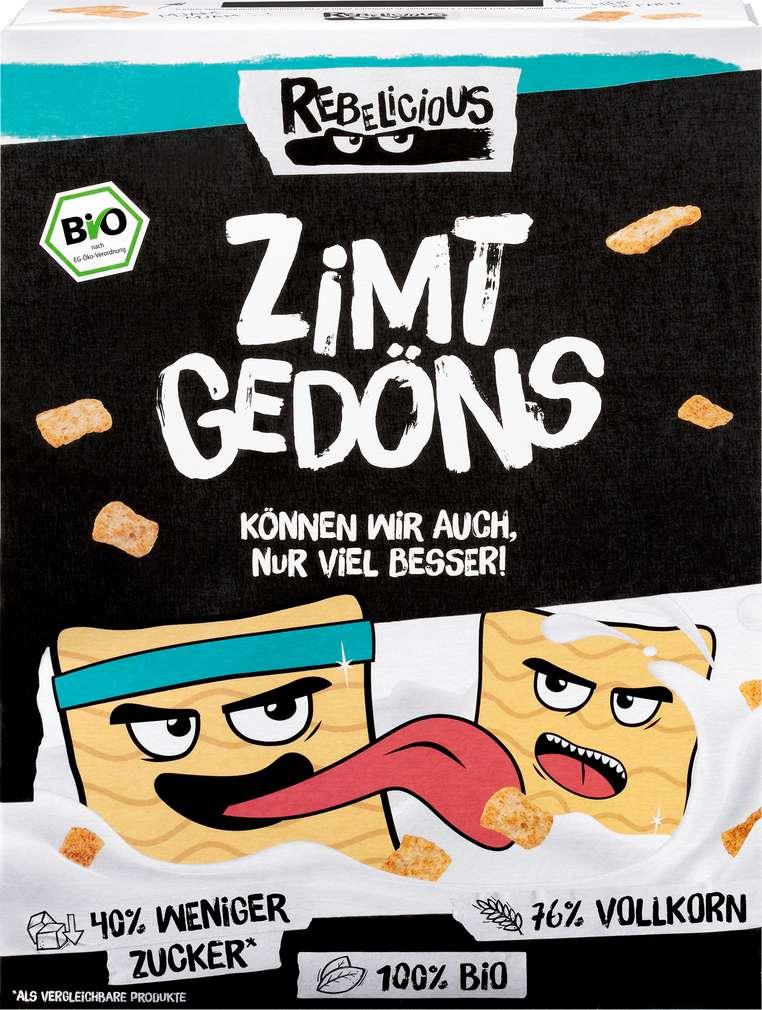 Abbildung des Sortimentsartikels Helden Snacks Bio-Zimt Gedöns Rebelicious 275g