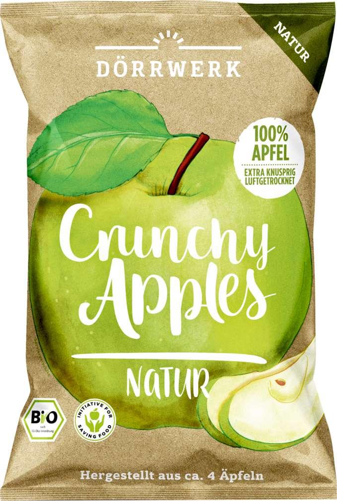 Abbildung des Sortimentsartikels Dörrwerk Crunchy Apple Natur 40g