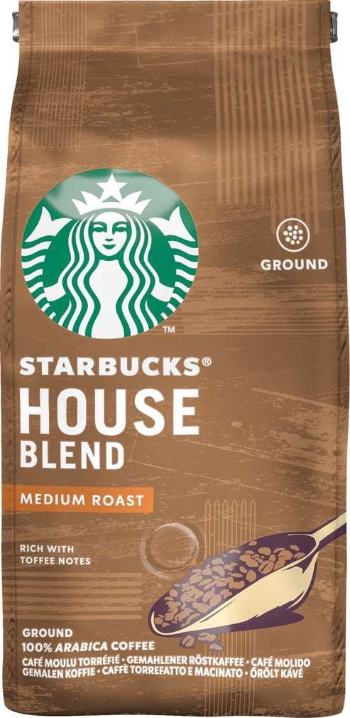 Abbildung des Sortimentsartikels Starbucks® House Blend gemahlen 200g