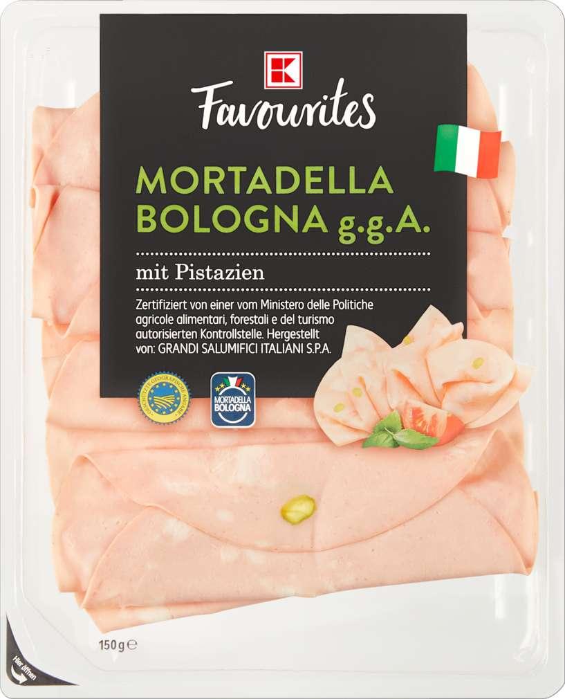 Abbildung des Sortimentsartikels K-Favourites Mortadella Bologna IGB 150g