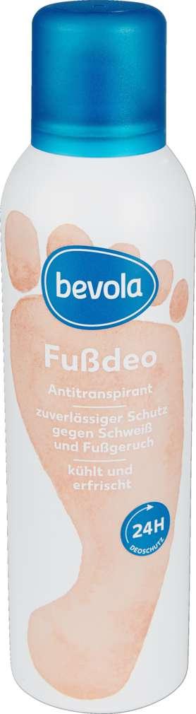Abbildung des Sortimentsartikels Bevola Fußdeospray 24h 200ml