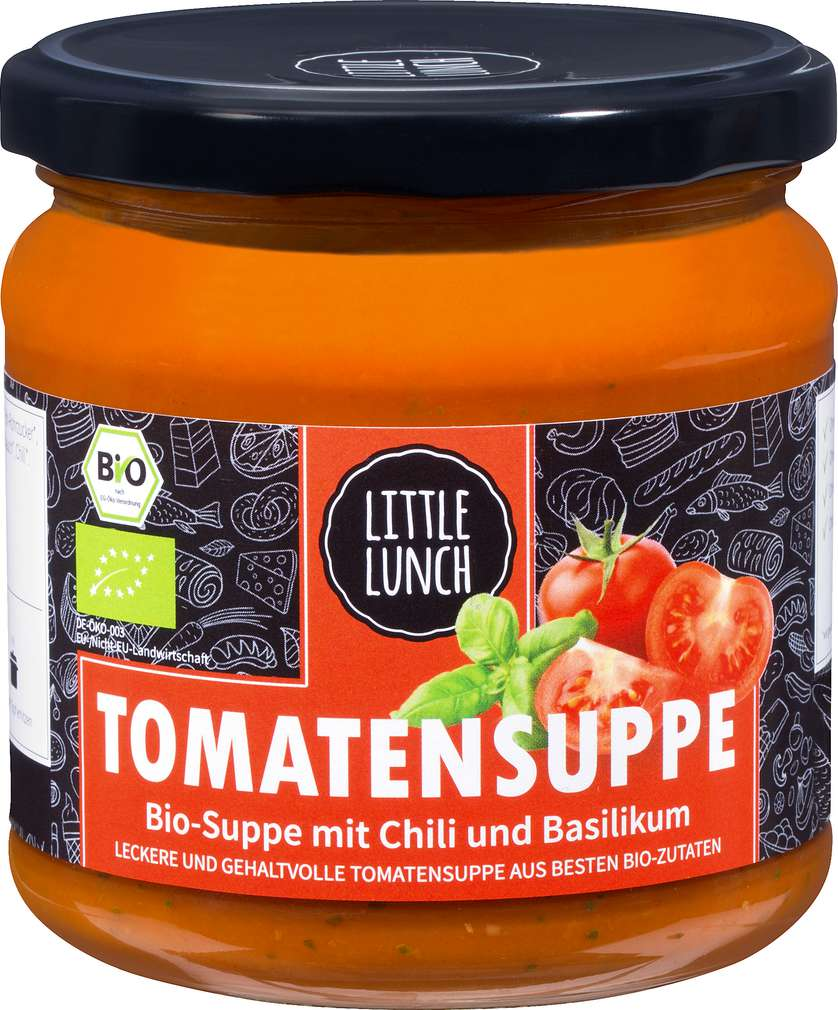 Abbildung des Sortimentsartikels Little Lunch Tomatensuppe 350ml