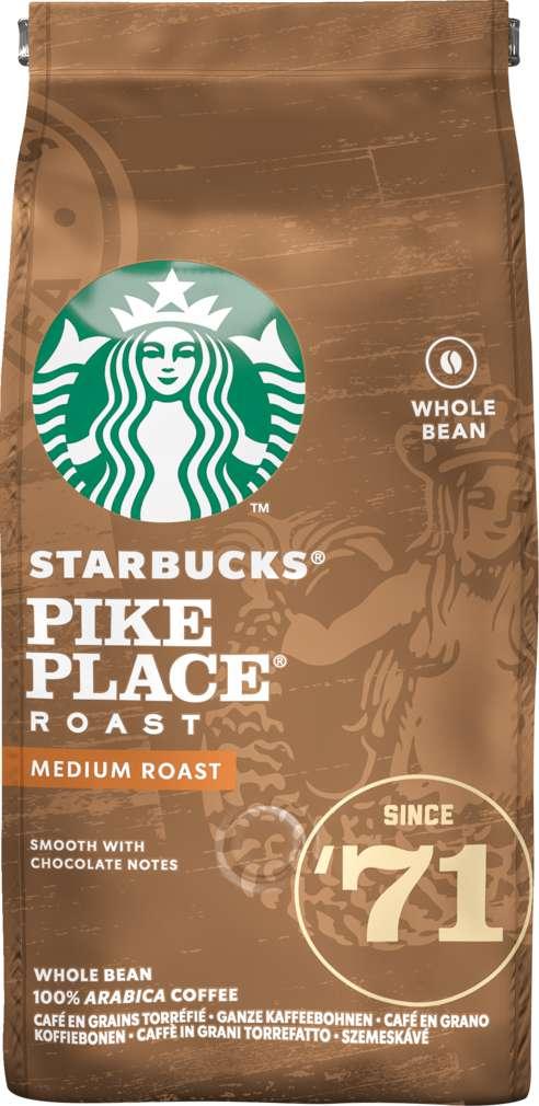 Abbildung des Sortimentsartikels Starbucks® Pike Place® Roast ganze Bohnen 200g