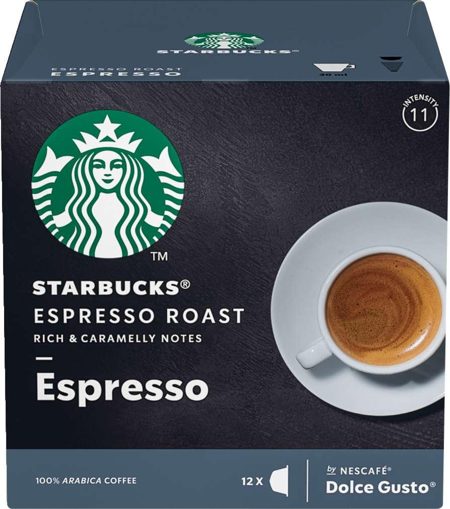 Abbildung des Sortimentsartikels Starbucks® by NESCAFÉ® Dolce Gusto® Espresso Roast 12=66g