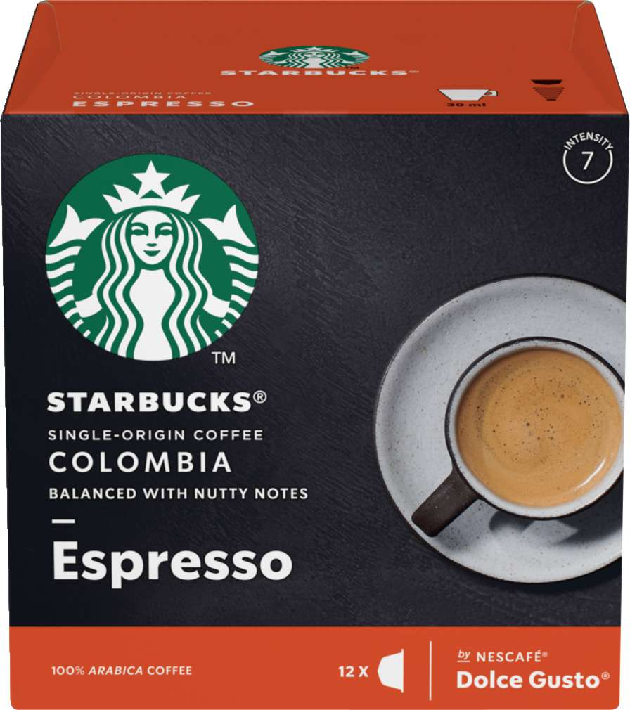 Abbildung des Sortimentsartikels Starbucks® by NESCAFÉ® Dolce Gusto® Single-Origin Coffee Colombia 12=66