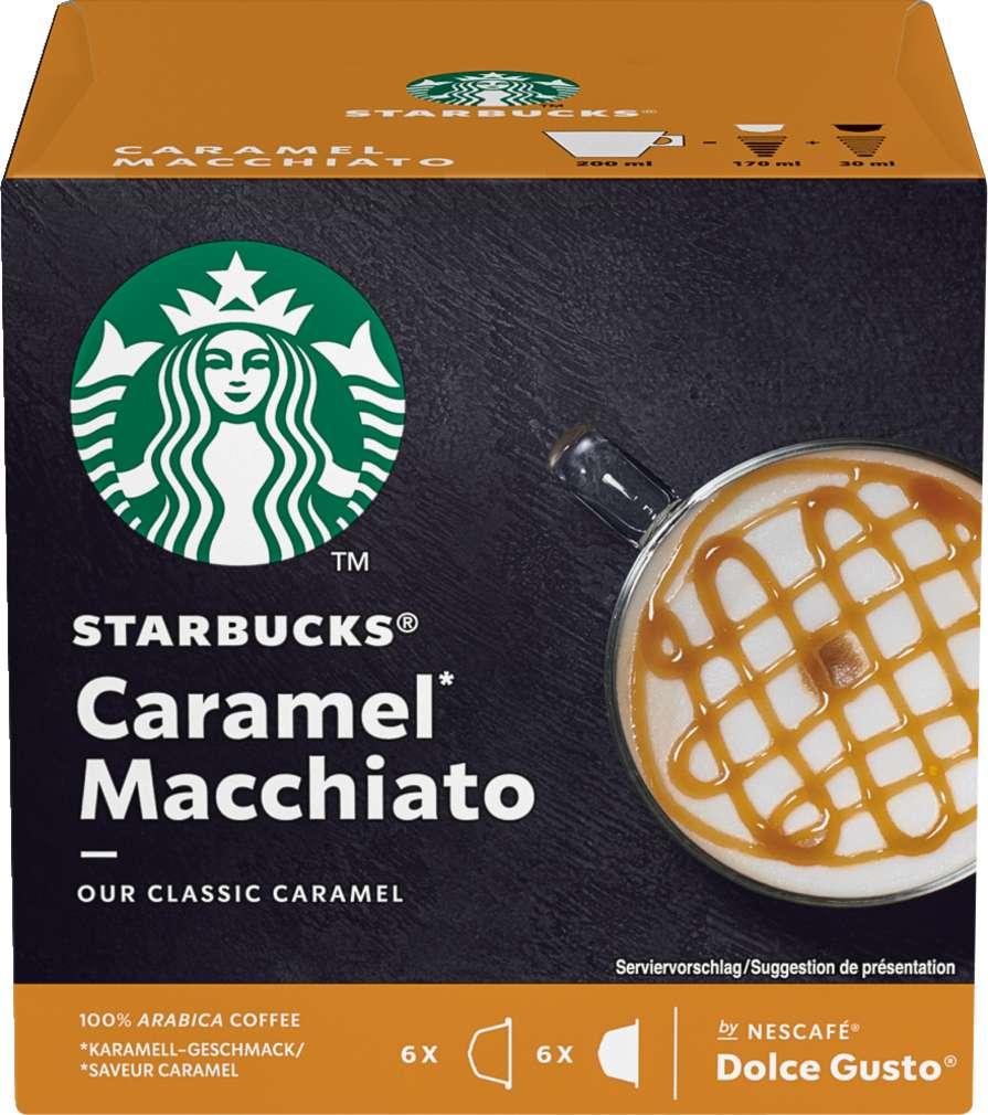 Abbildung des Sortimentsartikels Starbucks® by NESCAFÉ® Dolce Gusto® Caramel Macchiato 2x6=127g