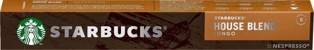 Abbildung des Sortimentsartikels Starbucks® by NESPRESSO® House Blend 10=75g