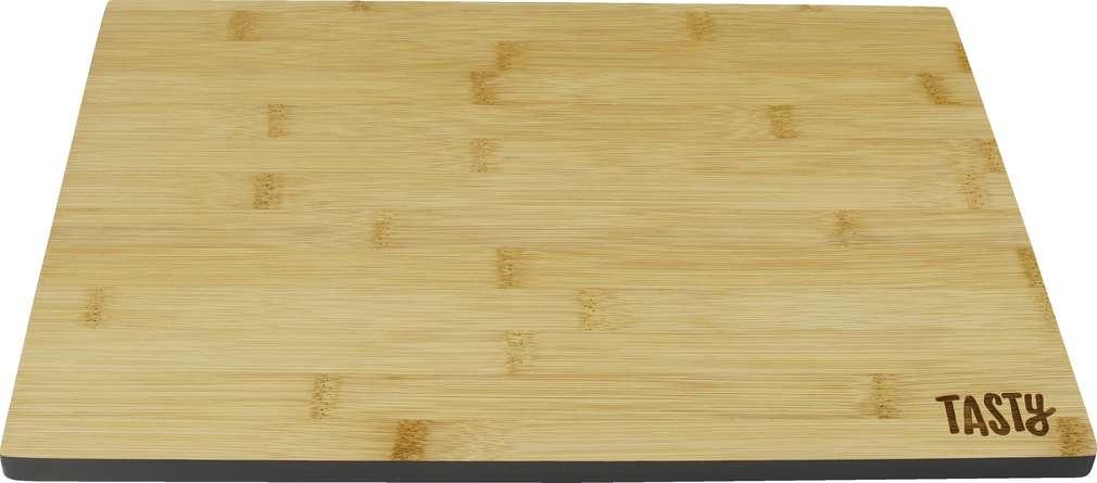 Abbildung des Sortimentsartikels Tasty Bambus-Schneidebrett 35,5x25x1,2cm