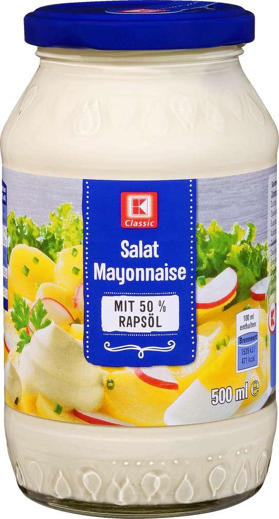 Abbildung des Sortimentsartikels K-Classic Salatmayonnaise 500ml