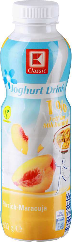 Abbildung des Sortimentsartikels K-Classic Joghurt Drink 1% 500g