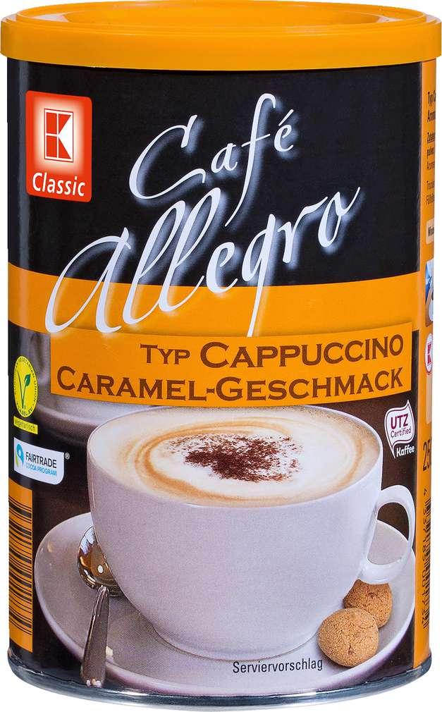Abbildung des Sortimentsartikels K-Classic Cafe Allegro Cappuccino Caramel 250g