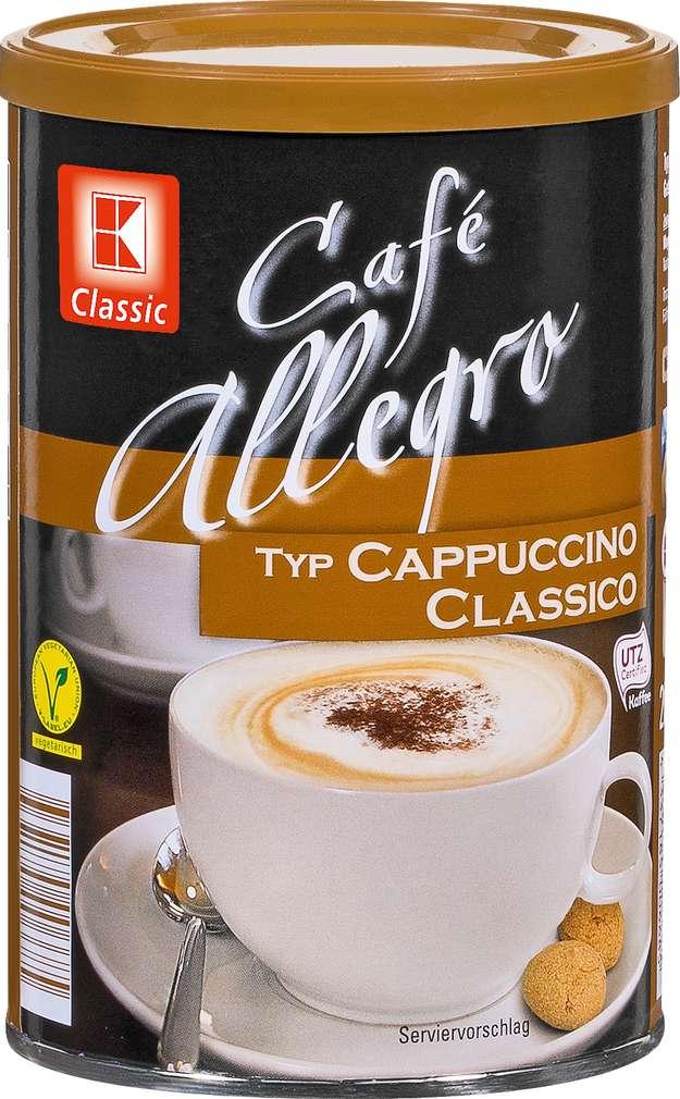 Abbildung des Sortimentsartikels K-Classic Cappuccino Classico 200g