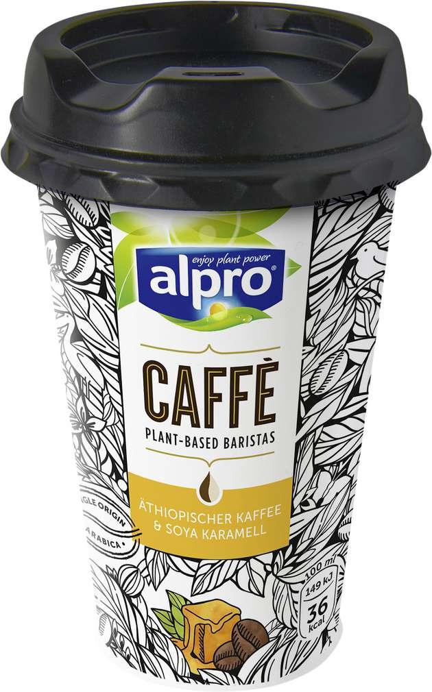 Abbildung des Sortimentsartikels Alpro Caffé Soya Karamell laktosefrei, vegan 235ml