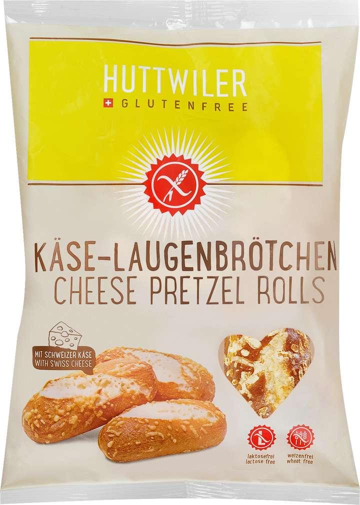 Abbildung des Sortimentsartikels Huttwiler Käse-Laugenbrötchen 210g