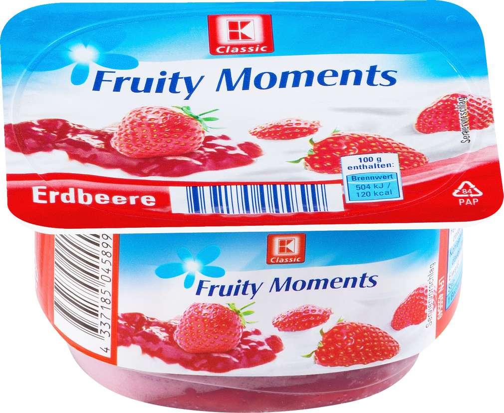 Abbildung des Sortimentsartikels K-Classic Fruity Moments Erdbeere 125g