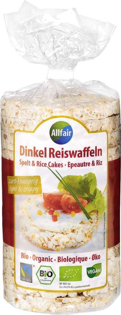 Abbildung des Sortimentsartikels Allfair Dinkel-Reiswaffeln 100g