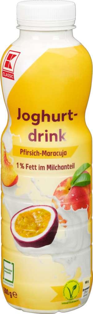 Abbildung des Sortimentsartikels K-Classic Joghurtdrink 1% Fett Pfi-Ma. 500g