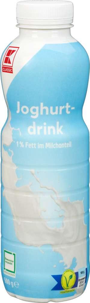 Abbildung des Sortimentsartikels K-Classic Joghurtdrink 1% Fett Pur 500g