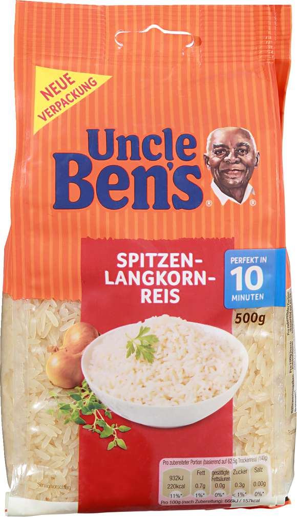 Abbildung des Sortimentsartikels Uncle Ben's Spitzen-Langkorn-Reis 500 gr